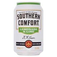 Southern Comfort Lemonade and Lime