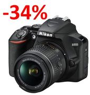 AMAZON DEAL SAVE £170! Nikon D3500 + AF-P DX 18-55 VR Kit