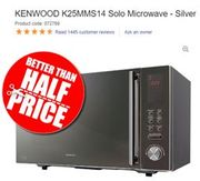 KENWOOD K25MMS14 Solo Microwave (25 Litres)
