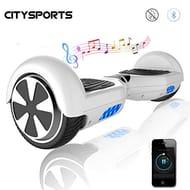 CITYSPORTS Self-Balancing Electric Scooter 6.5 Inch, Self Balance Scooter