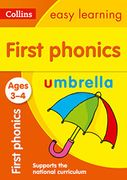 First Phonics Ages 3-4 (Collins Easy Learning Preschool) Paperback