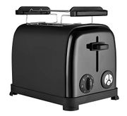 Venga! VG to 3004 Toaster - 950 W, Stainless Steel, Plastic, Black at Amazon