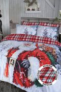 Father Christmas Snow Scene Duvet Sets Reduced! Now from £9.99