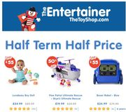 HALF PRICE TOY SALE at the Entertainer