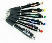 Personalised LIGHT up Pen - Free Delivery - Multi-Buy Discount