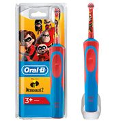 Oral-B Electric Rechargeable Toothbrush for Kids Featuring Disney Incredibles