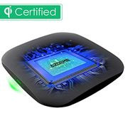 AZDOME Wireless Charger Qi-Certified,LED Light 7.5W Fast Qi Charging Pad
