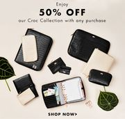 50% off Croc with Any Purchase