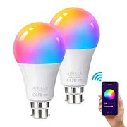 WiFi Smart LED Bulb AISIRER Alexa Light Bulbs Dimmable & Color Changing