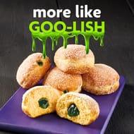 New Halloween Green Slime Doughnuts at @Morrisons