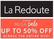 La Redoute MEGA SALE up to 50% Off Entire Site