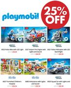 DEAL! 25% off PLAYMOBIL Police / Fire / Ambulance and More!