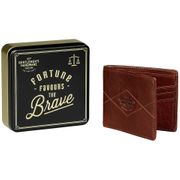 Cheap Gentlemen's Hardware Bi-Fold Leather Wallet - Tan - Save £30.51!