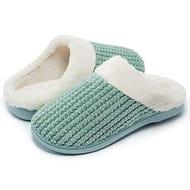 40% off Voucher! Kuako Womens Fleece Lined Slippers