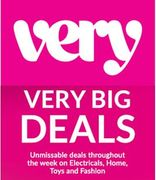 Very 'BIG DEALS' Sale - IS LIVE! ....Fashion, Home, Toys, Electricals....