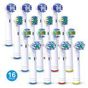 16 Pack Replacement Toothbrush Heads for Oral B,
