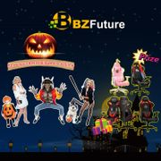 BZfuture 5 Brand Autofull Gaming Chair Halloween Giveaway