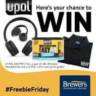 Win a Pair of JBL Wireless Headphones and a U-POL T-Shirt