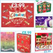 ADVENT CALENDARS REDUCED. 12 There Altogether.