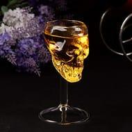 Halloween Skull Shaped Drink Wine Glasses