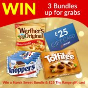 Win a £25 the Range Gift Card & a Storck Sweets Bundle!