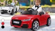 Cheap 6V Battery Licensed Audi or Jaguar Ride on Car, reduced by £50!