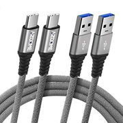 USB 3.0 Type C Cable - AZDOME (2 Pack) [3.3ft/6.6ft]