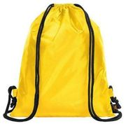 PE School Swim Backpack Gym Kids Girls Boys Sports Sack Sport Swimming Yellow