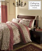 Catherine Lansfield Kashmir Easy Care KING DUVER COVER SET
