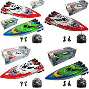 Haonike Children Remote Control Twin Motor High Speed Outdoor Racing Boat Boats