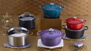 Le Creuset - Spend £450 on Selected Cookware and Kettles and save 30%.