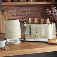 Russell Hobbs 24384 Cream Inspire 4 Slice Toaster