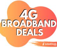 Three 4G Broadband Deals - Unlimited Data £17 per Month (24m)