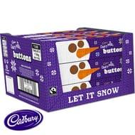 Cadbury Christmas Buttons Tube (Case of 12 X 72g)