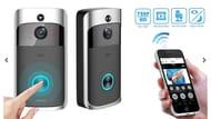 3-in-1 Smartphone-Connected Video Doorbell with Intercom + EXTRA 10% Off