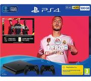 SONY PlayStation 4 with FIFA 20 & Two Wireless Controllers - 500 GB Only £249