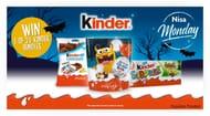 Win 1 of 20 Kinder Chocolate Bundles!