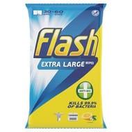 Flash Strong Wipes Antibacterial 60 per Pack 3 Packs £3