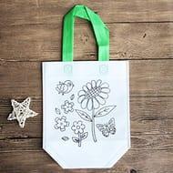 DIY Graffiti Tote Bag Non-Woven Grocery Bags for Children Arts