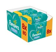 Cheap Pampers Fresh Clean Baby Wipes 8 X 80 Packs = 640 Wipes - Save £4!
