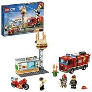 Half Price Lego City Fire Truck and Burger Van