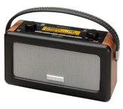 ROBERTS Vintage Portable DAB Radio - Black + Free Spotify £89.99 with Code