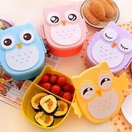 1050ML Owl Lunch Box Bento Food-Safe