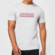 Nintendo SNES Men's Light Grey T-Shirt