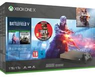 Xbox One X 1TB Battlefield v + Apex LegendsFounders Pack Console Bundle
