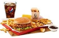 KFC BONELESS BANQUET via APP