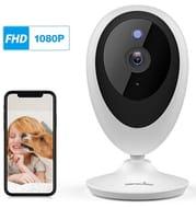 Wansview WiFi IP Camera,K5, theWorks with Alexa (White)