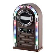 Itek Mini Bluetooth Jukebox with CD Player and Radio