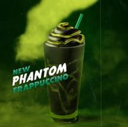 Starbucks Halloween Vegan Phantom Frappuccino