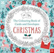 Christmas National Trust Colouring Book of Cards & Envelopes